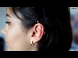 Пирсинг уха  Индастриал Ear piercing  Industrial