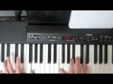 Between The Sheets Isley Brothers Piano Tutorial