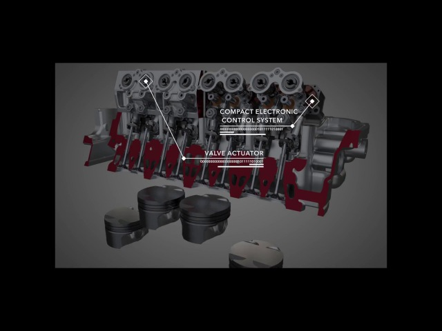 Intelligent Valve Technology - Petrol engine, diesel efficiency