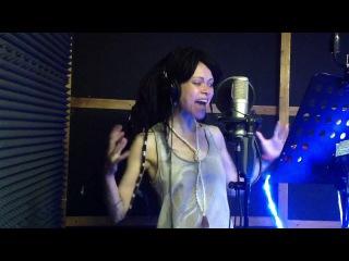 Дария Ставрович запись вокала для песни Ice Empire - Пленник пустоты