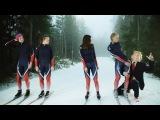 Лыжное камеди на норвежском канале