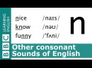 Say nice, know and funny. Other Consonants. Pronunciation Tips. [n]