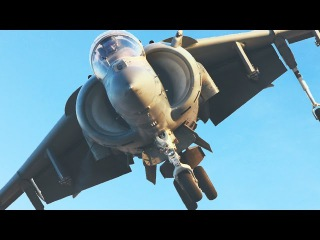 Repairing and Flying the Weirdest British and US Fighter Aircraft: AV-8B Harrier II