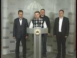 Брифнг УКРОПу щодо спроб силового припинення торговельно блокади ОРДЛО