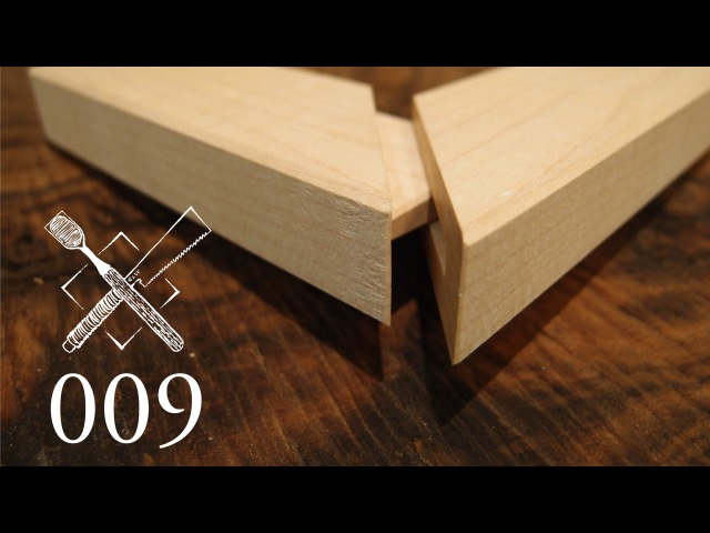 Joint Venture Ep 9 Hidden mitered and dovetailed mortise and tenon Western Japanese Joinery
