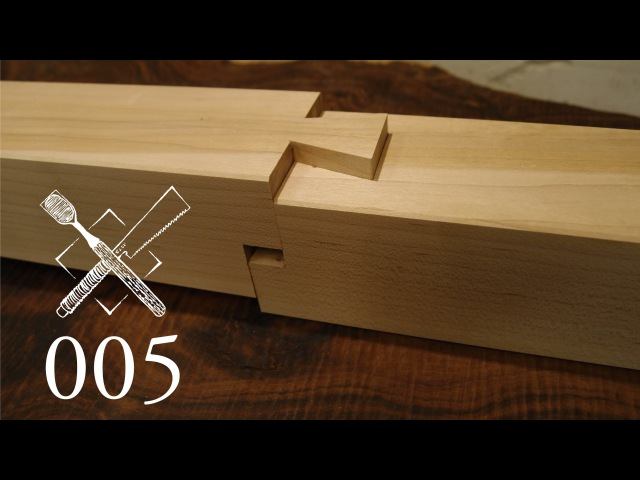 Joint Venture Ep 5 Stepped dovetailed splice Japanese Joinery