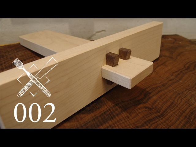 Joint Venture Ep.2: Double wedged through tenon (Western Joinery)