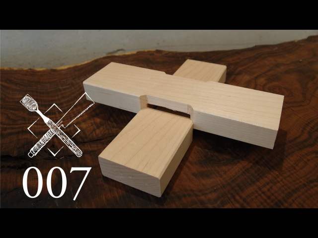 Joint Venture Ep. 7: Cross lap with mitered abutments (Western / Japanese Joinery)