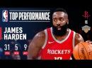 James Harden's 31 Points, 9 Assists Pushes Rockets Past Knicks | November 1, 2017