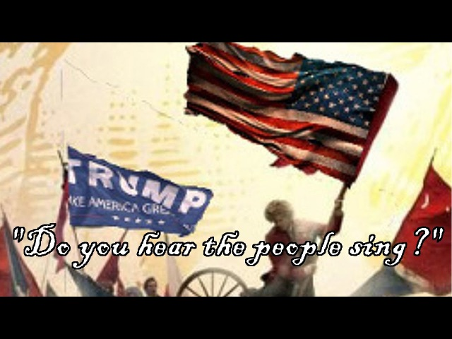 DEPLORABLES UNITE - (Do you hear the people sing) Trump Anthem - REUPLOADED FROM 1 MILLION VIEWS