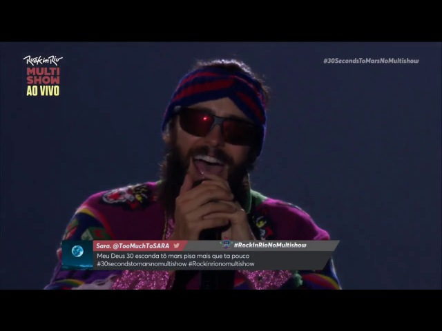 Thirty Seconds to Mars Rock in Rio 2017 720p