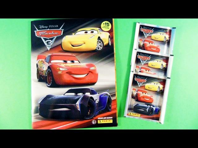 ТАЧКИ 3 Дисней! Cars 3 2017 Disney Pixar. Альбом для наклеек Panini. Обзор и распаковка