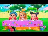 Babysitter Mania Baby care funny animated cartoon for kids learning video Games online