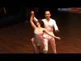 Dmitrii Filatov & Angelica Snopkova - Zouk show 3 place RZC 2017