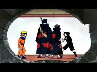 Asuma Kakashi Kurenai vs Itachi Kisame e Sasuke Naruto Jiraya VS Itachi Kisame