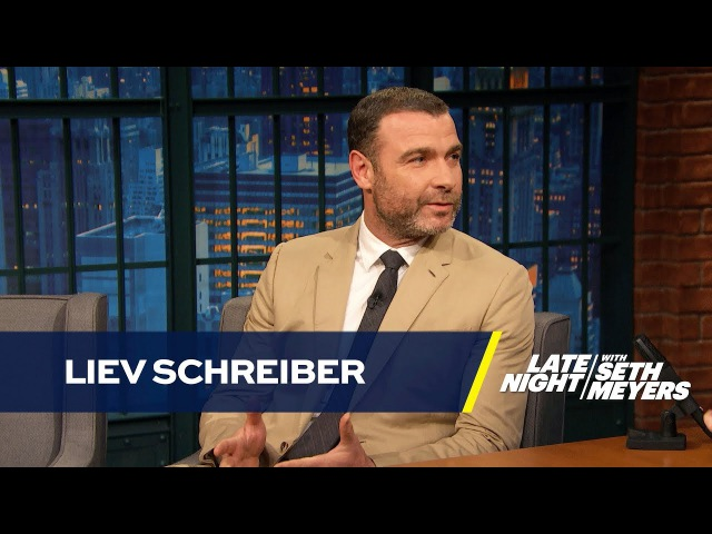 Liev Schreiber Is Teaching His Son How to Meditate