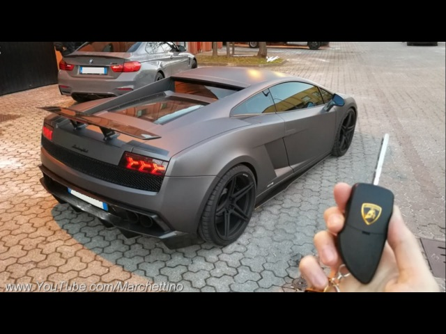 Lambo From HELL: My Friend's Insanely Loud LP560-4!