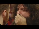 Mick Foley's FALSE TEETH FALL OUT during promo on RAW