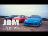 Mazda RX7 vs Honda NSX vs Toyota Supra - Experience the
