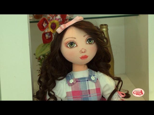Ana Neri Morandi ensina a pintar carinha humanizada da boneca porta papel - Passo a passo.