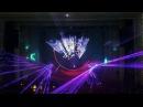 Лазерное шоу на юбилее фирмы