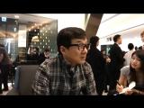 Интервью во время открытия магазина Richard Mille [RUS SUB]