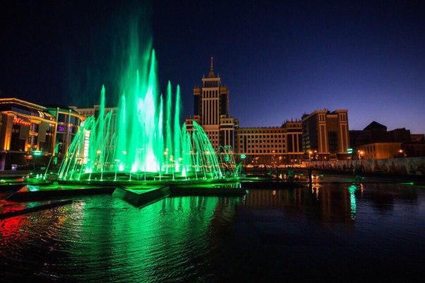 Саранск без фонтана - не Саранск.