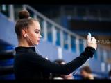 Дина Аверина - интервью - Кубок Мира Пезаро 2017