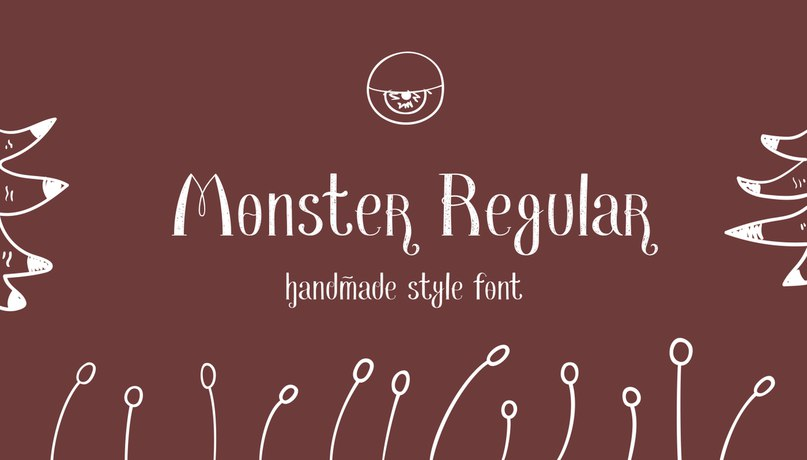 Download Monster font (typeface)