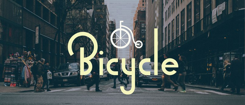 Download Bicycle font (typeface)