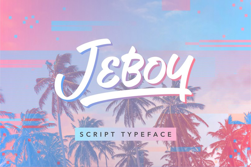 Шрифт Jeboy