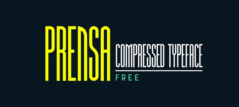 Download Prensa font (typeface)