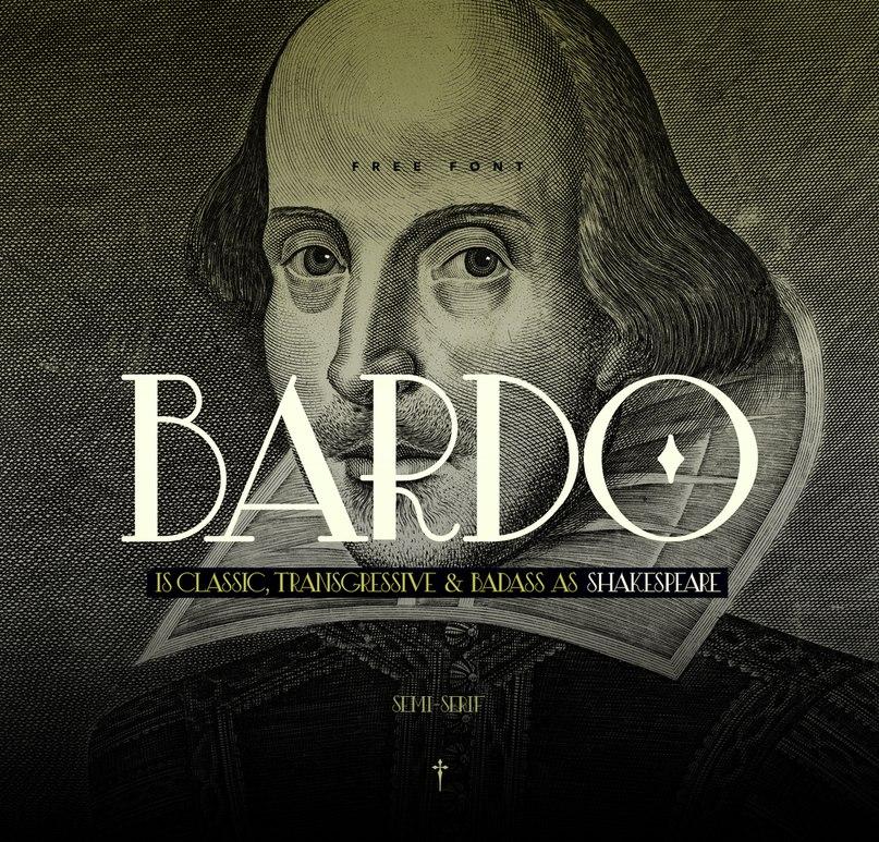 Download Bardo font (typeface)