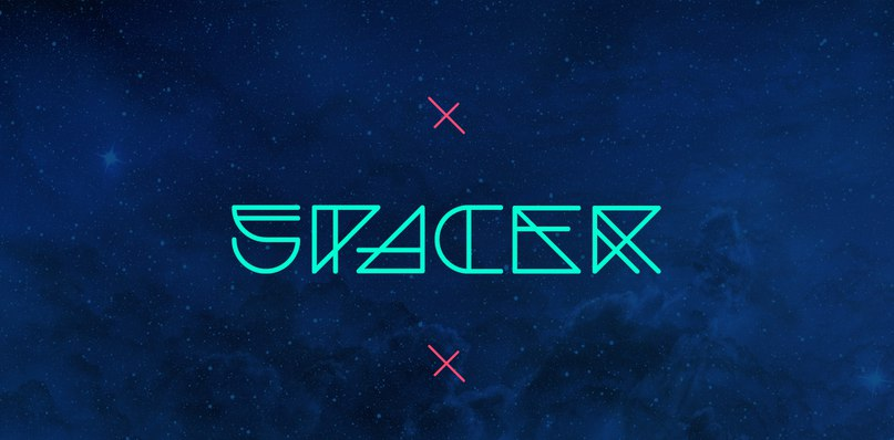 Download Spacer font (typeface)