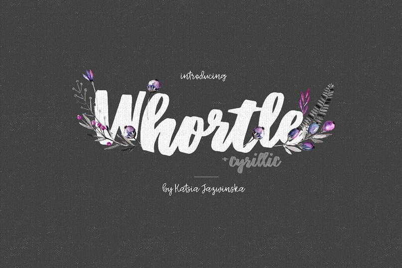 Download Whortle font (typeface)