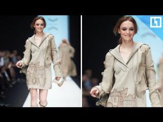 Диана Шурыгина на Mercedes-Benz Fashion Week Russia 2017