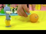 Развивающее видео Маша и подружки! Сказки для детей - КОЛОБОК! Сказка про Колобка кукольный театр