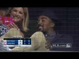 @TheRealJRSmith watched an @Indians game from about as close as you can get