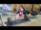 Сергей Федосиенко - тяга 260 кг на 3 повтора