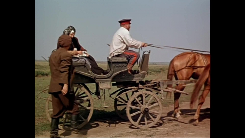 Поднятая целина 3 серия (1959) HD 1080p