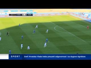 Dinamo - Rijeka 5-2, izvjesce (HNL 36.kolo), 27.05.2017. HD