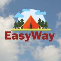 Логотип EasyWay / походы, сплавы и экскурсии / Уфа