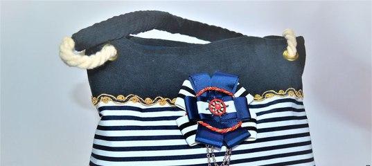 ed94ba49838a Шьем летнюю сумку в морском стиле - Ярмарка Мастеров - ручная работа,  handmade