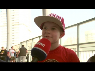 Маленький мальчик покрыл матом ЦСКА во время интервью