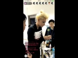 170506 ZTAO @ Promise in Nanjing backstage livestream at HZT app