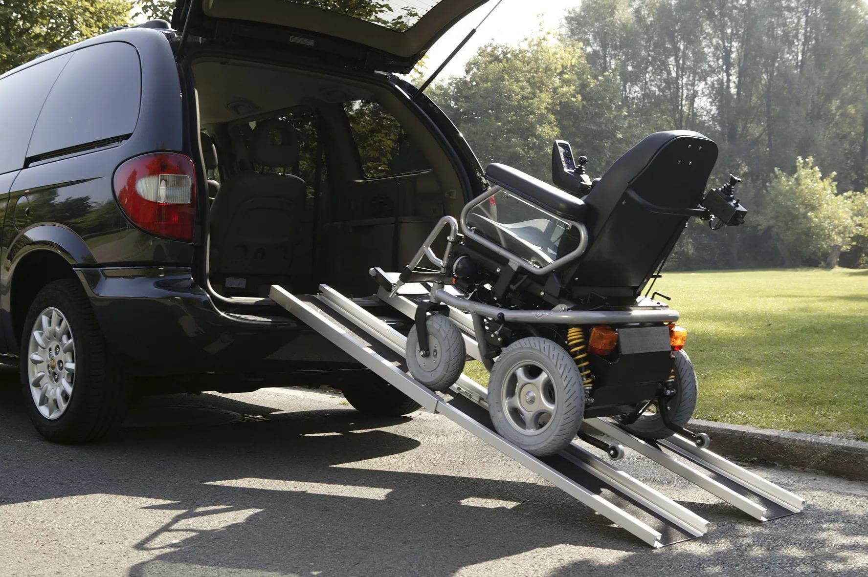 Пандусы для инвалидов складные