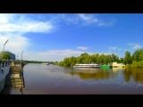 #timelapse55 У нас только позитивные новости в Омске прогулка по мостам и набережным #timelapse55 Выпуск №-15