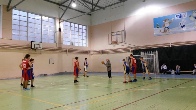 17.10.2017 Баскетбол Сергиев Посад(02-06) - Хотьково 2003 (7