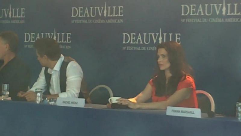Avant Première de Jason Bourne Legacy Lhéritage à Deauville 1er septembre 2012 France
