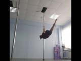 Pole dance studio Чебоксары обучение элементам и трюкам на пилоне (шесте) инструктор Екатерина Коновалова